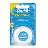Невощеная зубная нить Oral B Essential Floss
