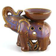 Керамическая аромалампа «Слон» 13 см