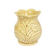 Аромалампа керамика Цветок крэк-эффект