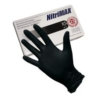 Смотровые нитриловые перчатки NitriMax, черные