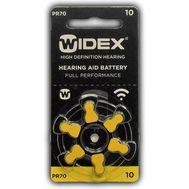 Батарейки Widex A10 для слуховых аппаратов