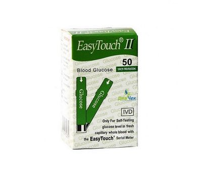 Тест-полоски EasyTouch на глюкозу