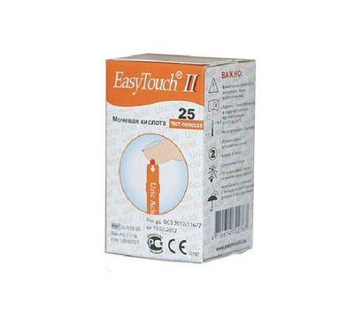 Тест-полоски EasyTouch на мочевую кислоту