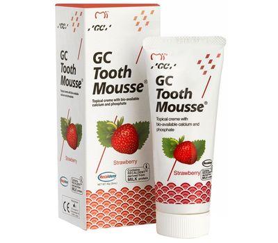зубной гель GC Tooth Mousse Клубника