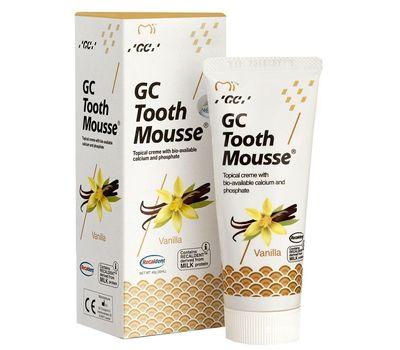 Мусс для реминерализации зубных тканей GC Tooth Mousse Ваниль
