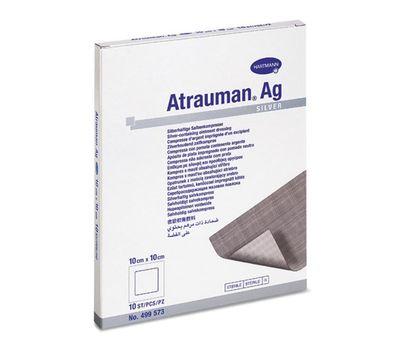 ATRAUMAN AG повязки с серебром (стерильные) (10x10 см) 3 шт/10 шт