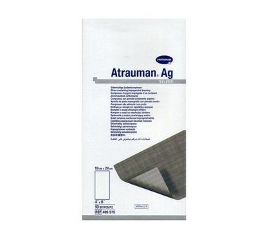 ATRAUMAN AG повязки с серебром (стерильные) (10х20 см)