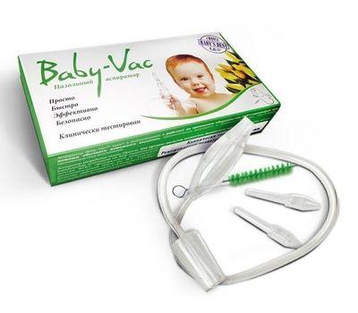 Назальный аспиратор Baby-Vac на пылесос