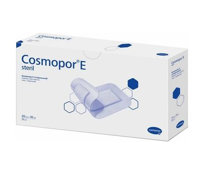 COSMOPOR E Steril самоклеящиеся послеоперационные повязки (20х10 см)