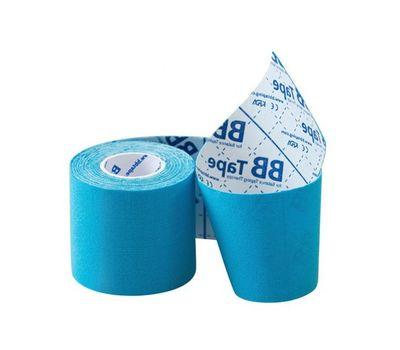 Кинезио тейп BBTape 5 см*5м ICE голубой