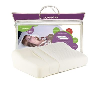 Подушка с выемкой под плечо Luomma LUMF-502