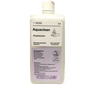 Антисептик для кожи Акваклин 1л.