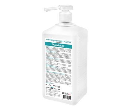 МилАсепт кожный антисептик с дозатором 1 литр
