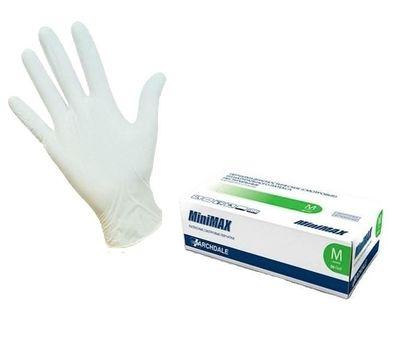 Смотровые латексные перчатки MiniMax