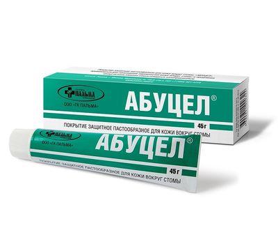 Паста Абуцел для защиты кожи вокруг стомы, 45 г