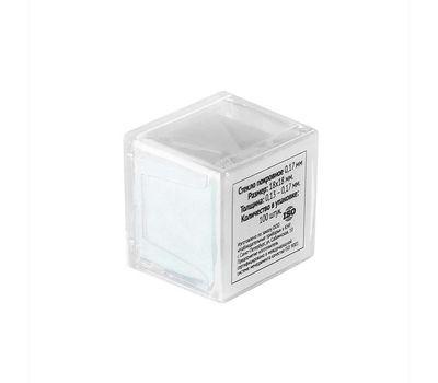 Покровные стекла 0,17 мм (100шт.)