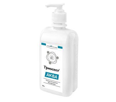 Антисептик для кожи (без спирта) Триосепт-Аква с дозатором 500 мл